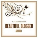 Beautiful Blogger Award – thank you!